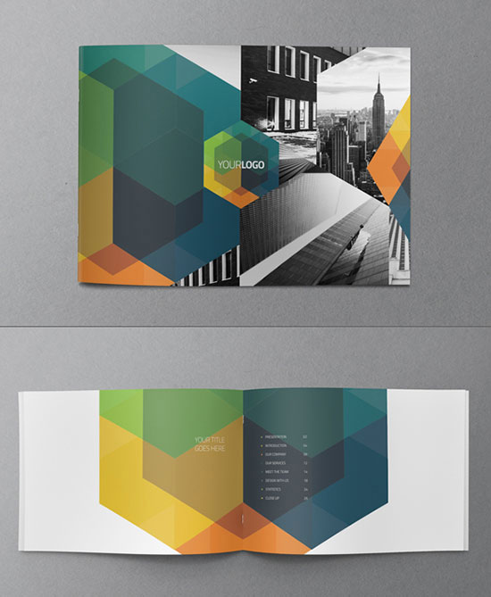 30 awesome brochure design ideas 2014  u2013 bashooka