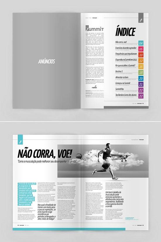 30 Awesome Brochure Design Ideas 2014 | Web & Graphic Design | Bashooka