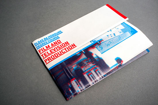 brochure created for the National Film School