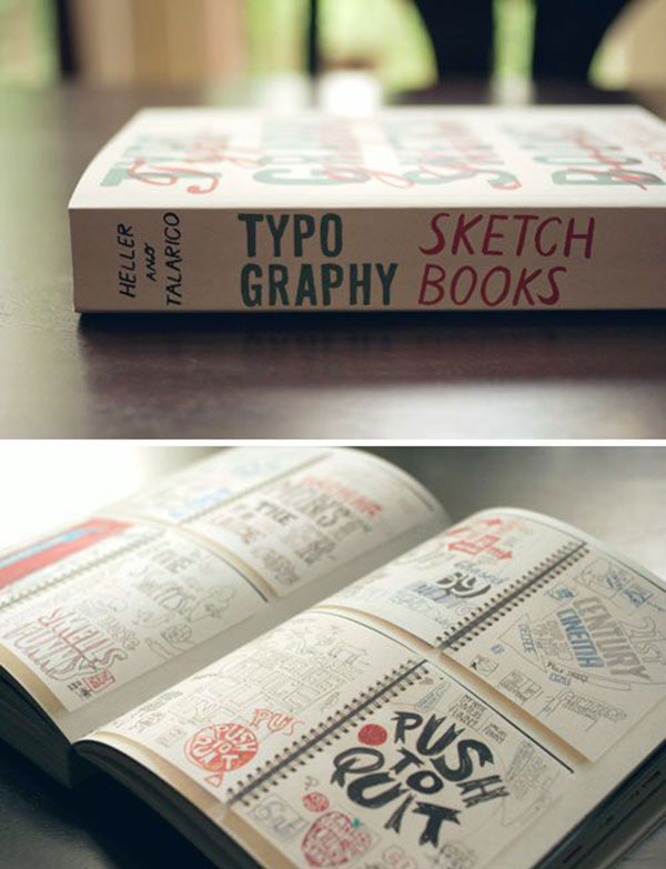 Typography Sketchbooks.
