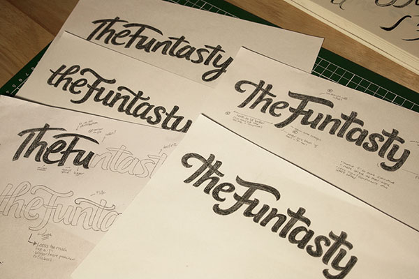 The Funtasty sketches