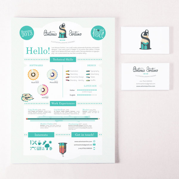 Logo, Business Card and CV/Resume