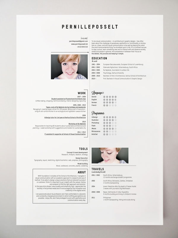 40 creative cv resume designs inspiration 2014 web