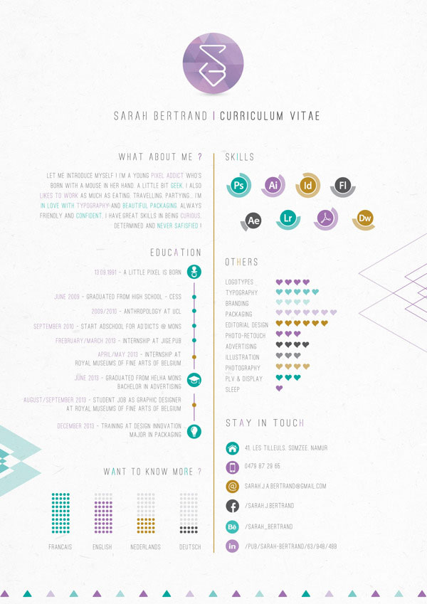 best images about cv on pinterest infographic resume ui designer resume gui designer resume sample resume