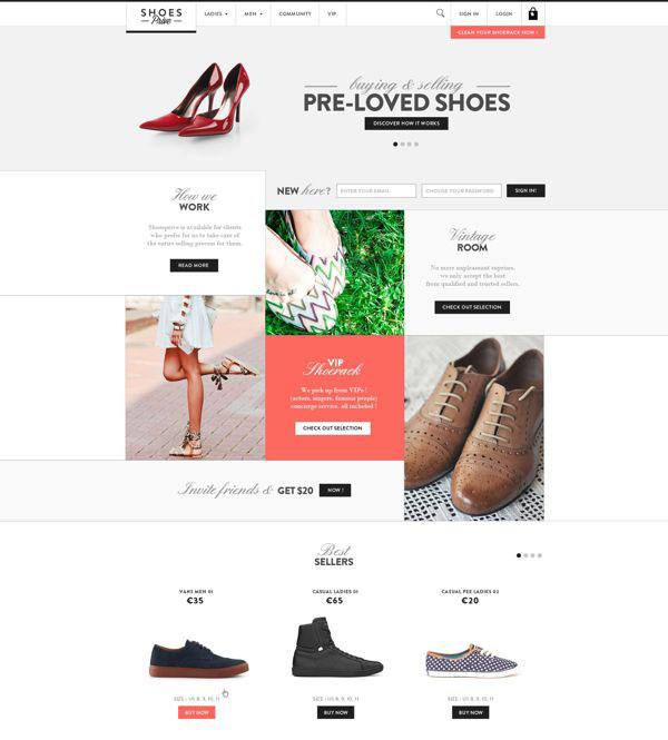 Shoesprive Concept