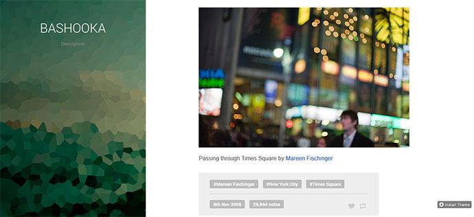 maqfee free tumblr theme