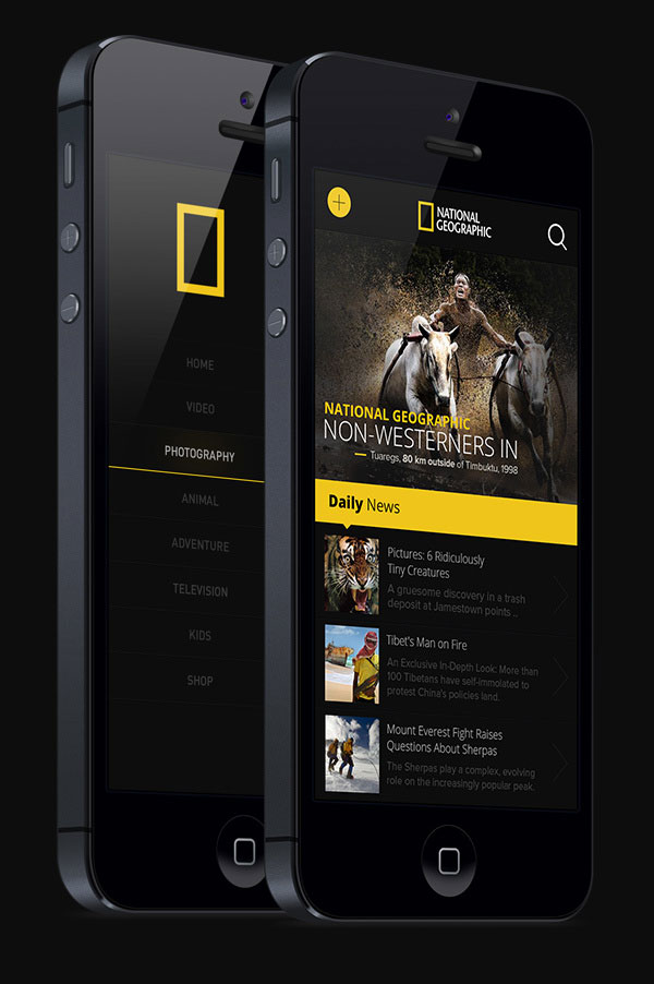 National Geographic iphone App