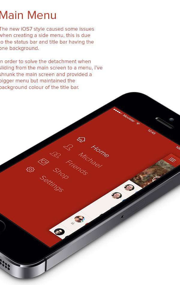 Path - iOS7 Redesign
