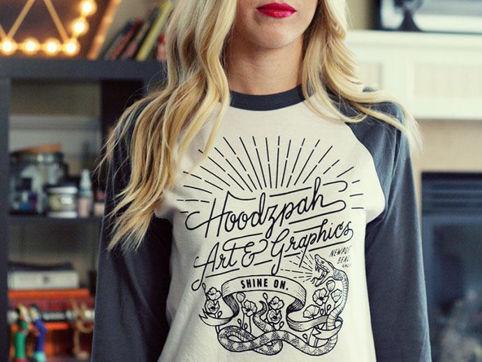 Hoodzpah Baseball T-Shirt