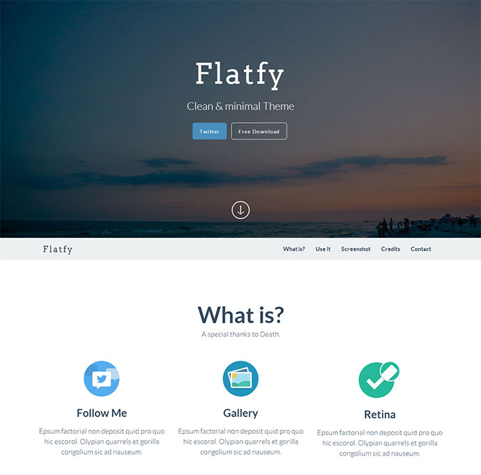 Free Responsive Bootstrap HTML Website Templates Web Graphic - What is web template