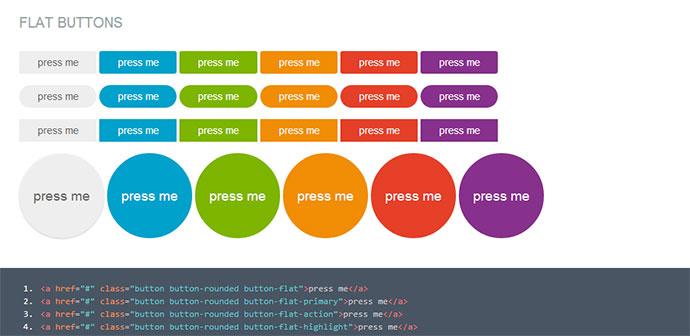 12 Modern & Stylish CSS3 Buttons – Bashooka