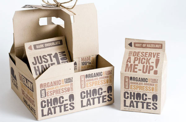 Choc-o Lattes Packaging