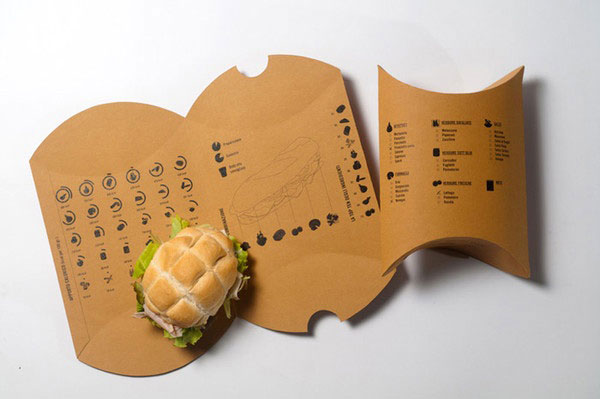 take away sandwich packaging