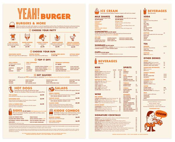 grabbing restaurant menu designs web graphic design bashooka