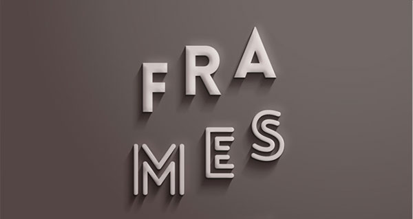 Psd Frames Text Effect