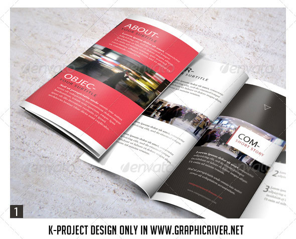 Tri-Fold Brochure Mock Up