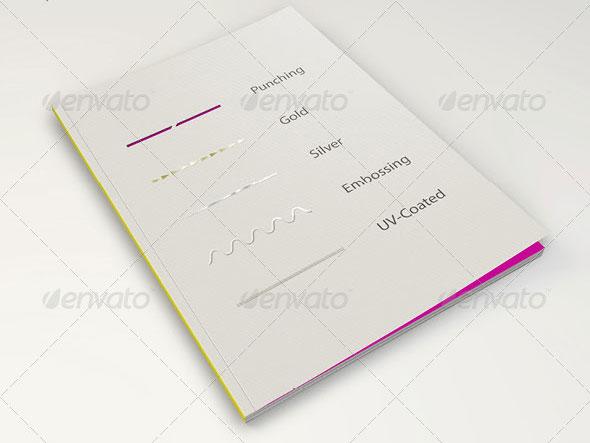 Magazine MockUp - Cover Simulation