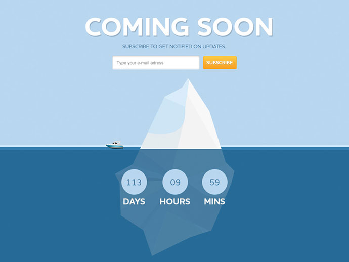 17 free psd  u0026 html coming soon templates