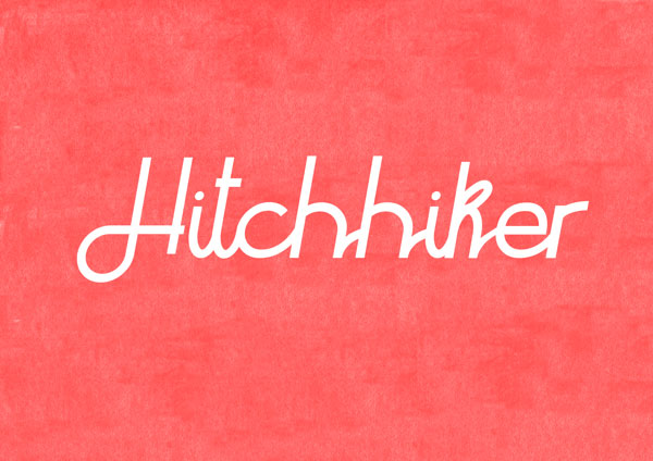 Hitchhiker Free Font