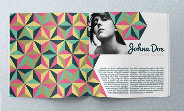 19 awesome geometric brochure designs web graphic
