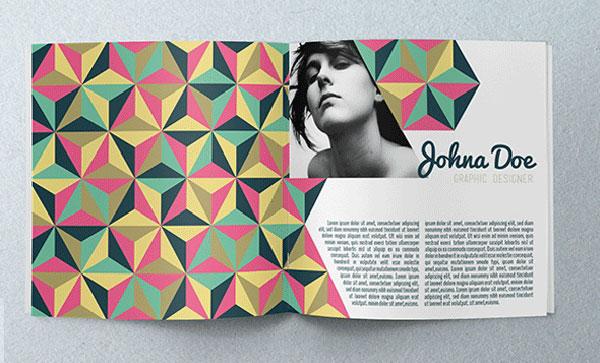 Abstract Portfolio Brochure