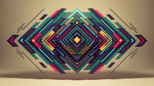 30 mind blowing examples of geometric designs web graphic design
