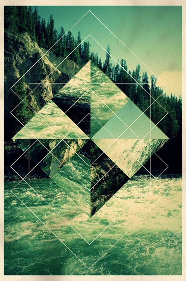 30 mindblowing examples of geometric designs web
