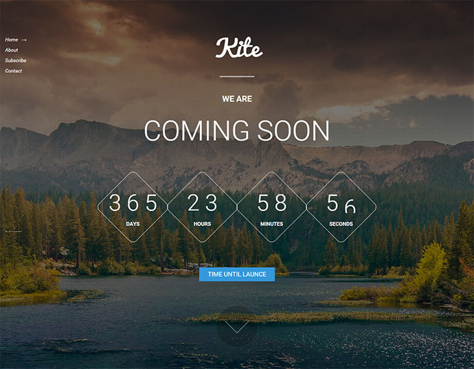 kite free coming soon template
