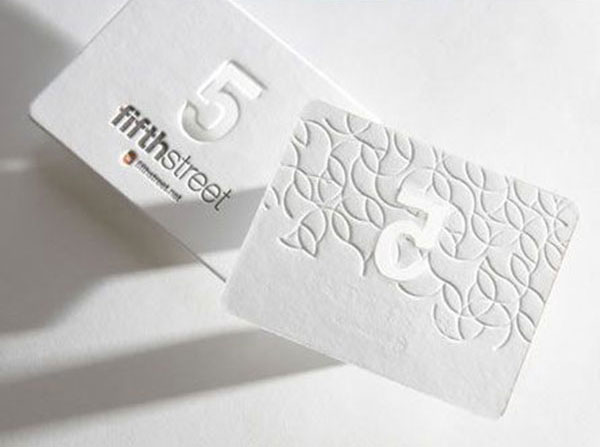 White Letterpress