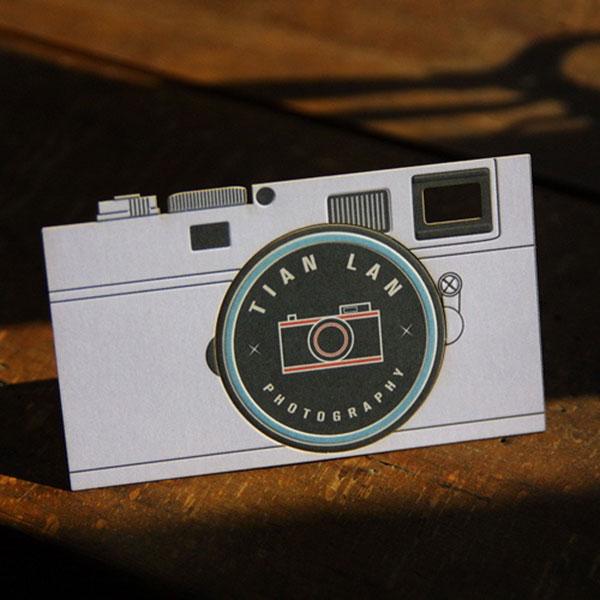 Camera letterpress.