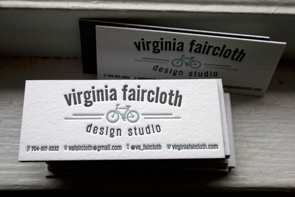 Personal Branding | Letterpress Business Cards