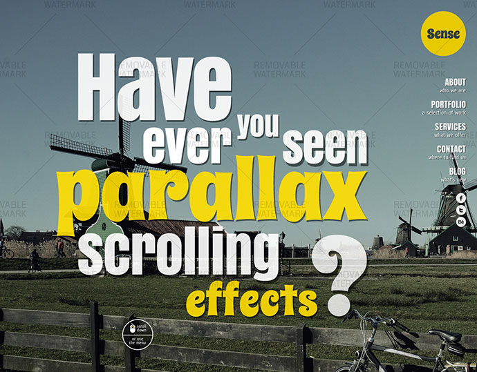 37 Parallax Scrolling One Page HTML Website Templates | Web ...
