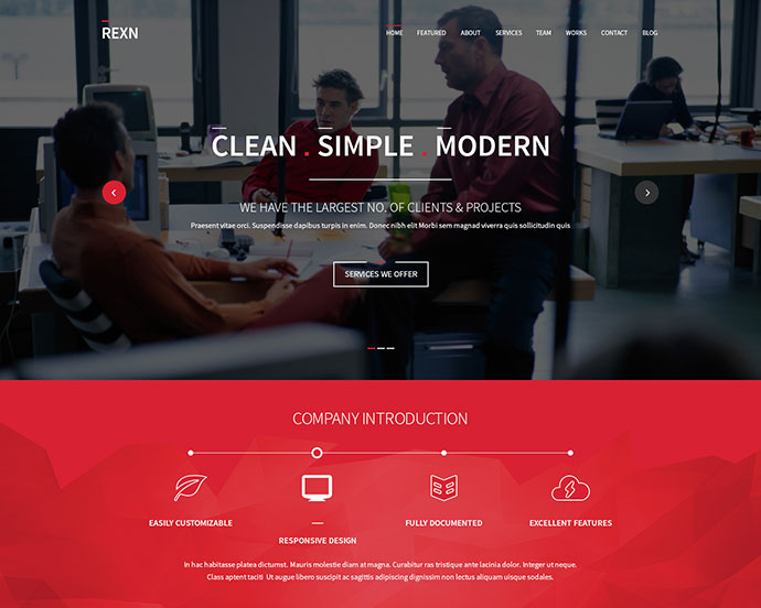 37 parallax scrolling one page html website templates
