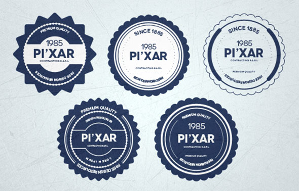 20 high quality psd badges web graphic design bashooka