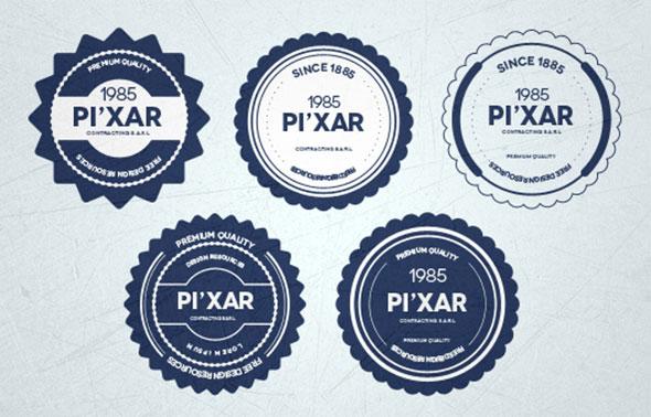 20 high quality psd badges web graphic design bashooka badge templates pronofoot35fo Choice Image
