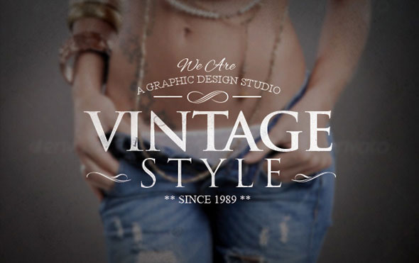 Vintage Badges PSD Template