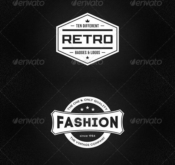 20 High Quality PSD Badges | Web & Graphic Design | Bashooka
