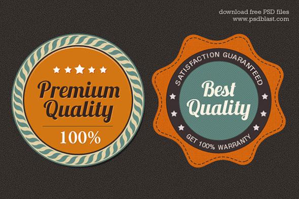 Free Premium Quality Web Badge