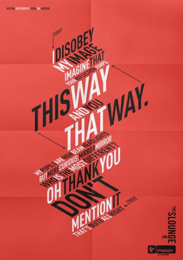 33 Incredible Typographic Posters | Web & Graphic Design ...