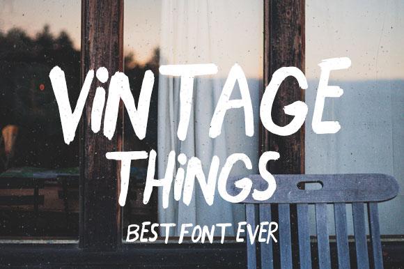 vintage-font-close