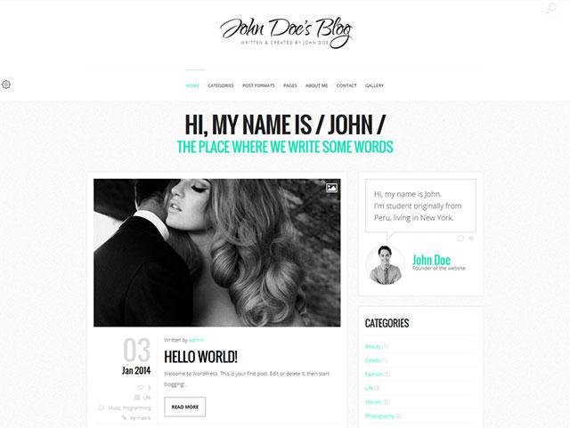 John Doe Blog