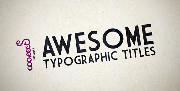 25 Amazing After Effects Kinetic Typography Templates   Web ...