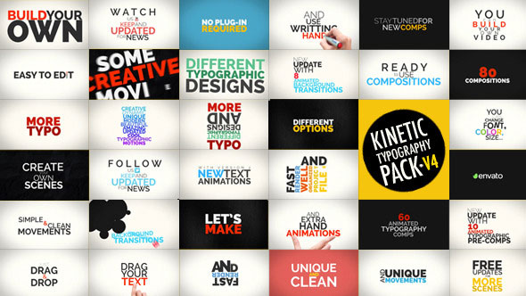 kinetic typography template image collections - templates design ideas, Modern powerpoint