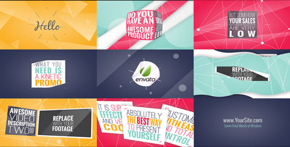 25 amazing after effects kinetic typography templates for Adobe after effects templates torrent