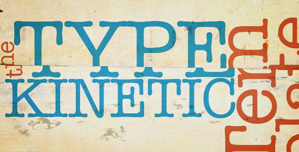 HD Kinetic Type