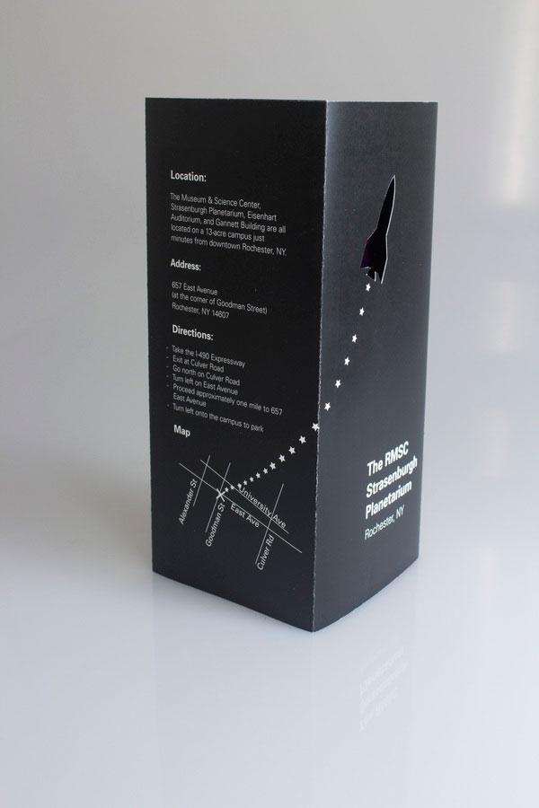 Strasenburgh Planetarium Informational Brochure