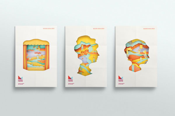 Die Cut Book Cover Design ~ Die cut brochures that wow inspire web graphic