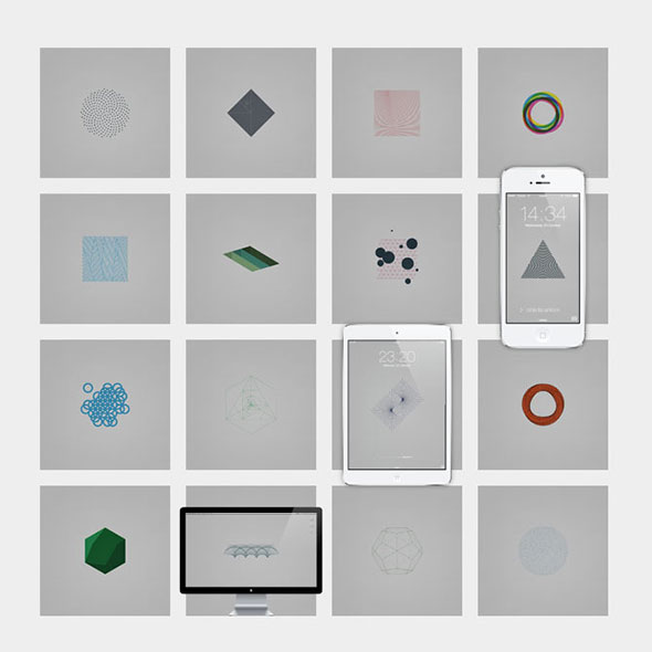 Geometry Daily Desktops Pack