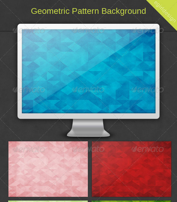 Geometric Grunge Pattern Backgrounds