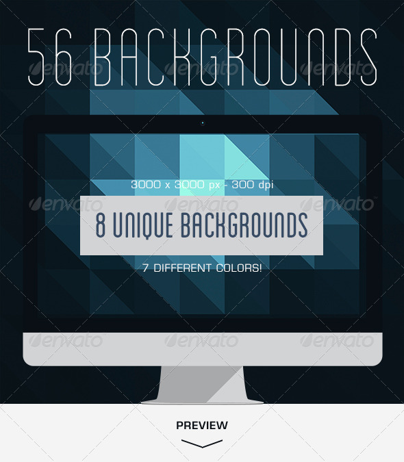 56 Geometric Backgrounds